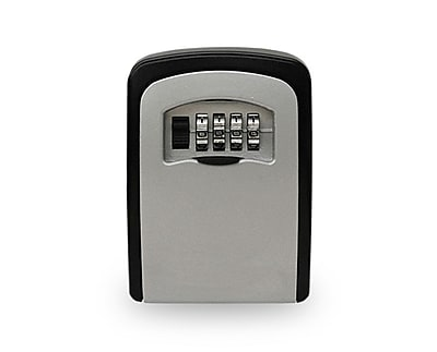 Adir Office 4-Digit Combination Wall Mounted Key Lock Box - Holds up to 5 Keys