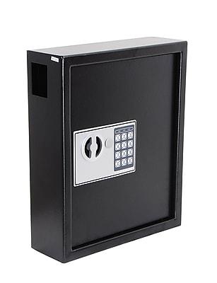 AdirOffice Secure 40 Key Cabinet with Digital Lock - Holds 40 Keys