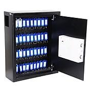 AdirOffice 40 Key Key-Lock Cabinet, Black (680-40-BLK)