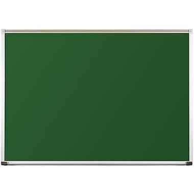 Best-Rite Green Porcelain Steel Chalkboards with Deluxe Aluminum Trim, 4 x 8 Feet (104AH-20)