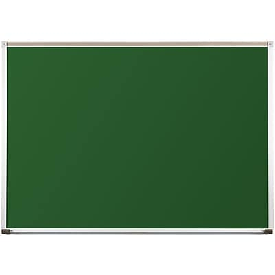 Best-Rite Green Porcelain Steel Chalkboards with Deluxe Aluminum Trim, 4 x 6 Feet (104AG-20)