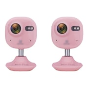 2 Pack Ezviz Ezminiplspnk Mini Plus 1080p Wi-fi Indoor Cloud Camera