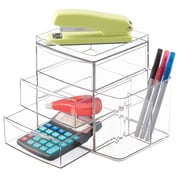 Clarity 3-Drawer with Side Organizer