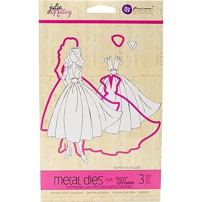 Prima Marketing 911591 Julie Nutting Metal Die-Coordinates W/Rita Stamp 11102