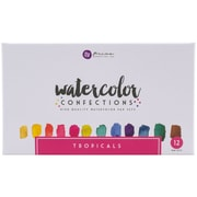Prima Marketing 584269 Prima Marketing Watercolor Confections Watercolor Pans 12/Pk-Tropicals