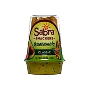 Sabra Grab & Go Guacamole Snackers with Tostitos Dipping Rolls Assorted, 2.8 Oz., 6/Pack (301682)