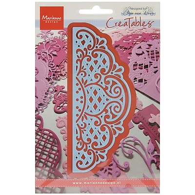 Ecstasy Crafts MLR0269 Marianne Design Creatables Dies-Anja's Vintage Decoration, 5