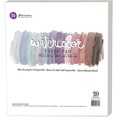 Prima Marketing 847753 Prima Marketing Watercolor Paper Pad 12
