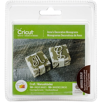 Provo Craft 2002860 Cricut Shape Cartridge-Anna's Decorative Monograms