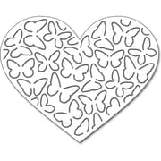 """Penny Black 51291 Penny Black Creative Dies-Butterfly Heart Pop Out, 3.7""""X3"""""""