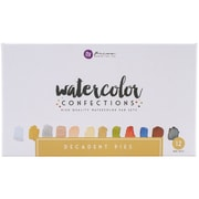 Prima Marketing 584276 Prima Marketing Watercolor Confections Watercolor Pans 12/Pk-Decadent Pies
