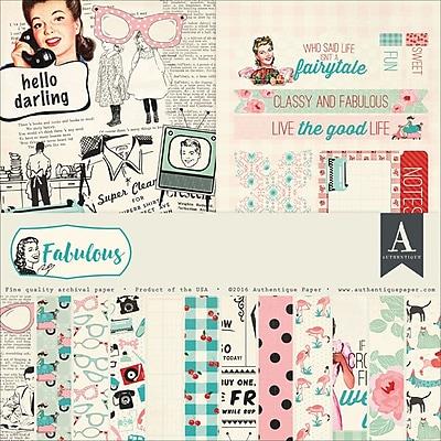 Authentique Paper FAB017 Authentique Collection Kit 12