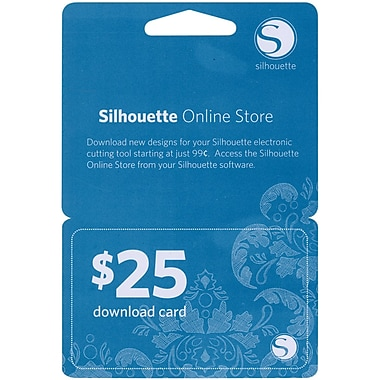 Silhouette Of America 25DNLD Silhouette $25 Download Card-