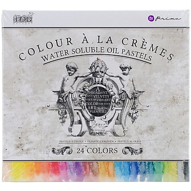 Prima Marketing 814328 Iron Orchid Designs Water Soluble Oil Pastels 3.25