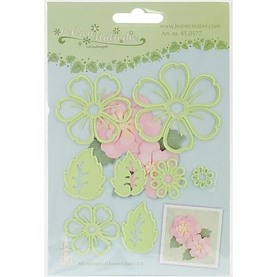 Ecstasy Crafts LC450577 Lea'bilities Cut & Emboss Dies-Multi Die Flower Blossom Layers