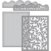 Spellbinders S6117 Spellbinders Card Creator Card Front Die-Framed Floral