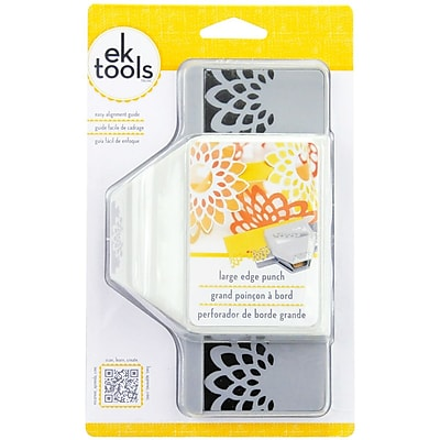EK Success E5450116 Large Edge Punch-Flower Burst, 1.25