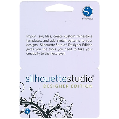 Silhouette Of America STUDIO Silhouette Studio Designer Edition Upgrade Card-