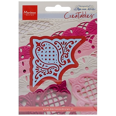 Ecstasy Crafts MLR0200 Marianne Design Creatables Dies-Corner, 4