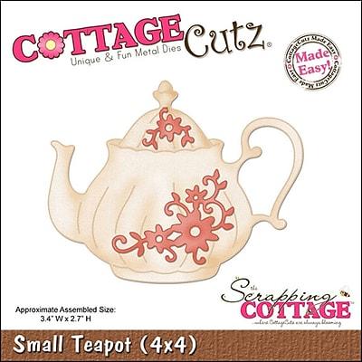 CottageCutz 4X4482 CottageCutz Die-Small Teapot 3.4