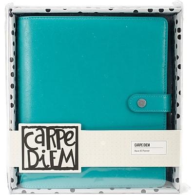 Simple Stories SSCDA5-4929 Carpe Diem A5 Planner-Aqua
