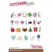 CottageCutz CC219 CottageCutz Die-Calendar Icons