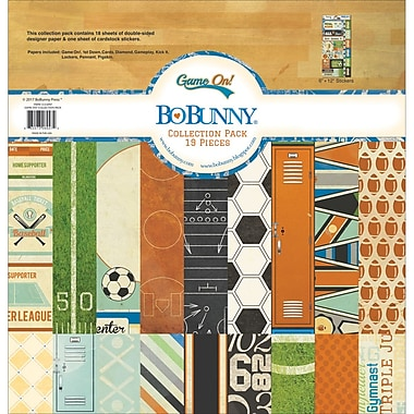 BoBunny 21216947 BoBunny Collection Pack 12