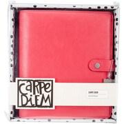 Simple Stories SSCDA5-4931 Carpe Diem A5 Planner-Coral