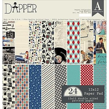 Authentique Paper DAP013 Authentique Double-Sided Cardstock Pad 12