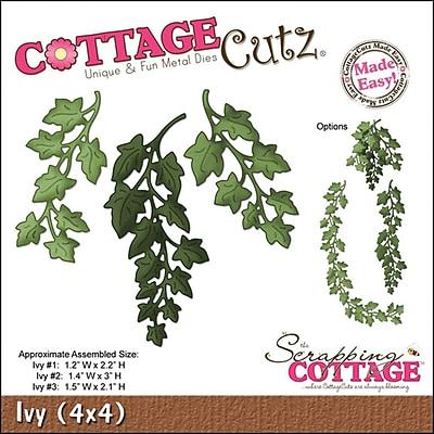 CottageCutz 4X4506 CottageCutz Die-Ivy 1.2