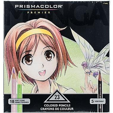 Sanford 1774800 Prismacolor Premier Manga Colored Pencil Set 23/Pkg-