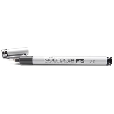 Copic Marker MLSP-03 Copic Multiliner SP Black Ink Pen-.3mm