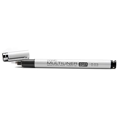 Copic Marker MLSP-003 Copic Multiliner SP Black Ink Pen-.03mm