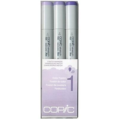 Copic Marker CSCF-1 Copic Sketch Color Fusion Markers 3/Pkg-Set 1