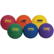 Olympia Sports 4 in. Ultimate Rhino Poly Playballs - Set of 6 (OSBL300P)