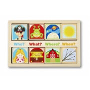 Melissa And Doug Wooden Story Blocks (MLSSAND1483)