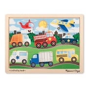 Melissa And Doug On the Road Jigsaw Puzzle, 12 Pieces (MLSSAND1500)