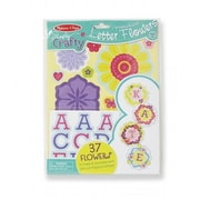 Melissa And Doug Simply Crafty - Personalized Letter Flowers (MLSSAND1692)