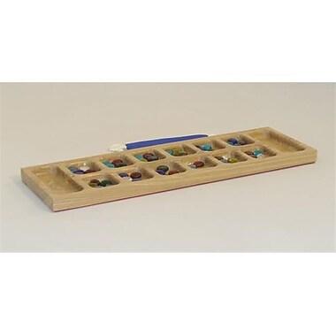 Square Root Basic Wood Mancala (WWI376)
