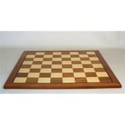 WorldWise Imports 23.5 in. Sapele & Maple Wood Veneer Chess Board (WWI850)