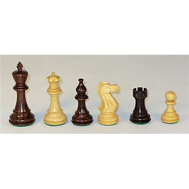 WorldWise Imports Rosewood American Classic Chess Piece (WWI22583)