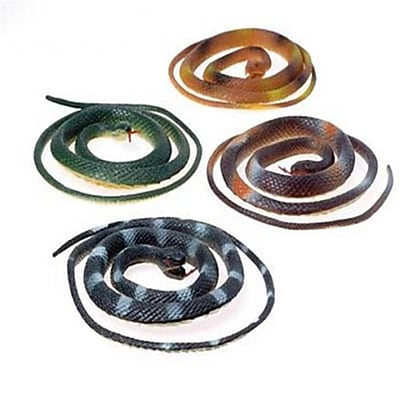 US Toy 42 in. Toy Snakes - 12 Per Pack - Pack of 4 (USTCYC173173) 24126604