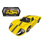 Shelby Collectibles 1967 Ford GT MK IV Yellow 1-18 Diecast Car Model (DTDP1081)