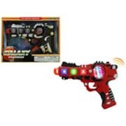 DDI 8.5 in. Toy Gun Battery Operated Vibrate with Light & Sound - Galaxy Gaurdian, Assorted Colors (DLR339556)