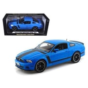 Shelby Collectibles 2013 Ford Mustang Boss 302 Blue 1-18 Diecast Car Model (DTDP1087)