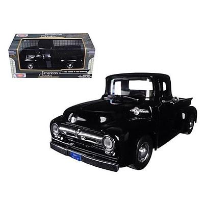 Motormax 1956 Ford F-100 Pickup Truck Black