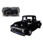 Motormax 1956 Ford F-100 Pickup Truck Black 1-24 Diecast Model (DTDP559)