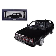Norev 1990 Volkswagen Golf GTi G60 Black 1-18 Diecast Model Car (DTDP1295)