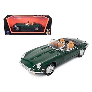 Road Signature 1971 Jaguar E Type Green 1-18 Diecast Model Car (DTDP845)