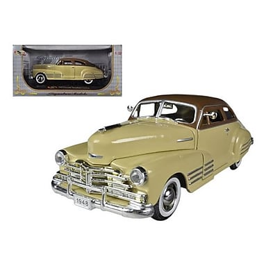 Signature Models 1948 Chevrolet Fleetline Aerosedan Beige 1-32 Diecast Car Model (DTDP1016)